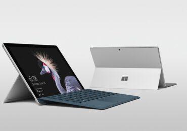 Microsoft stellt das lautlose Surface Pro 5 Redmond ohne 5 vor