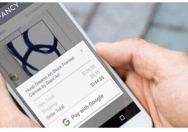 Mit Google zahlen bitte