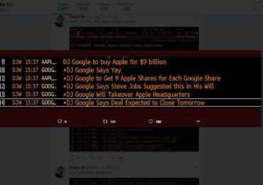 Google kauft Apple für 9 Milliarden?