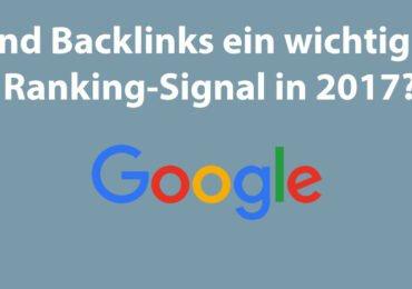 Google-Link-Studie: Links sind sehr wichtig für eine gute Platzierung