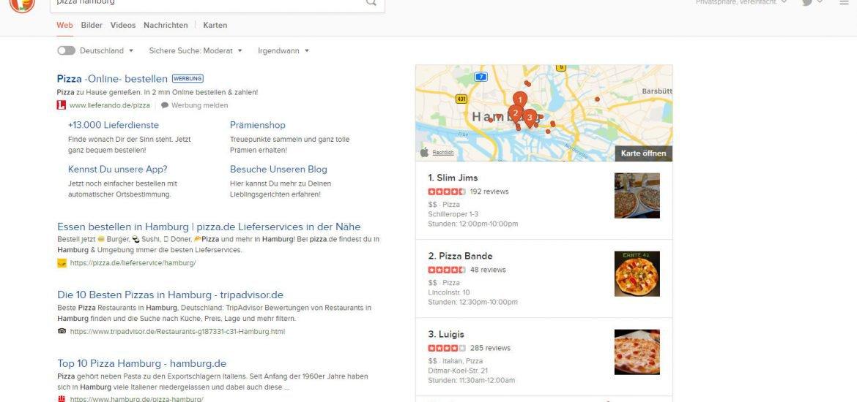Suchergebnis für Pizza Hamburg