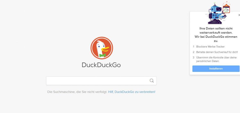 DuckDuckGo und der Datenschutz