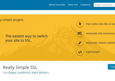 Really Simple SSL – Populärsten WordPress-Plugins HTTPS-Konfigurationstool