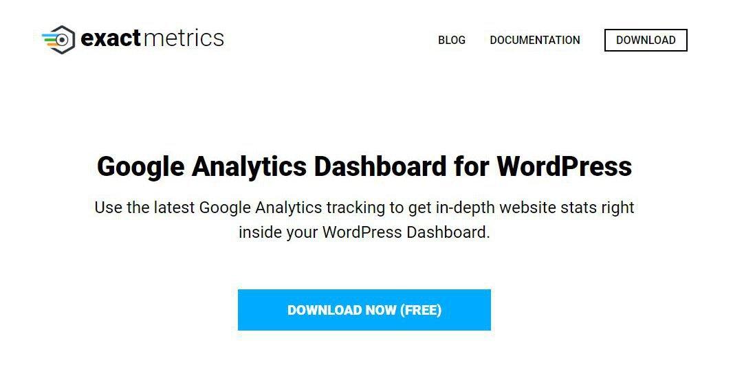 Google Analytics Dashboard für WordPress