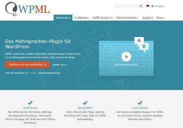 WPML – Das Mehrsprachen-Plugin für WordPress