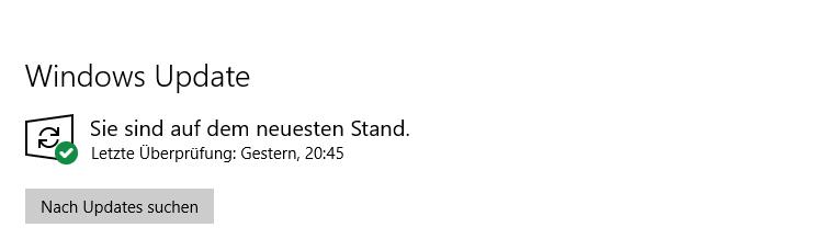 Windows 10: KB4532693 Nutzer-Daten nach Update weg
