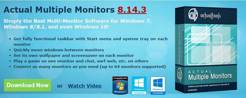 Mehrere Monitore in unterschiedlichen Konfigurationen verwalten