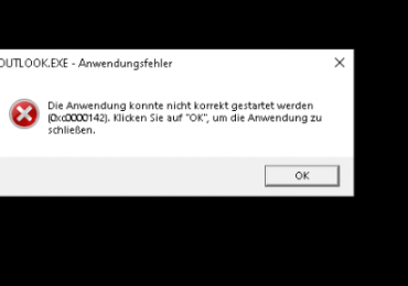 Microsoft Office: Fehler 0xc0000142