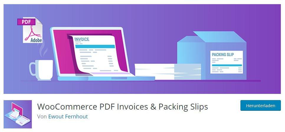 PDF-Reader WordPress für die WooCommerce Lösung - PDF Rechnungen in PDF erstellen